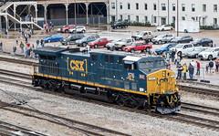 CSX Train Y151 (RailfanTerry) Tags: nashville tennessee unitedstatesofamerica us csxnashvilledivisionnashvilleterminal csx527576ncstl