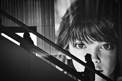 Emerge Silhouette (reiko_robinami) Tags: streetphotography silhouette light monochrome blackandwhite urban yokohama japan