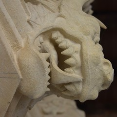 Lacock Abbey (jan.ashdown) Tags: lacock lacockabbey dragon stone carving