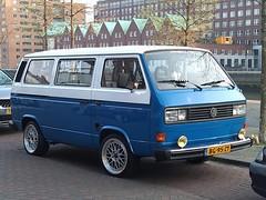 1982 Volkswagen Bus (harry_nl) Tags: netherlands nederland 2019 rotterdam volkswagen bus t3 transporter bg95zy sidecode4