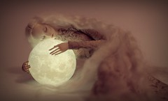 sleeping on the moon (dolls of milena) Tags: bjd abjd resin doll metis codie portrait moon