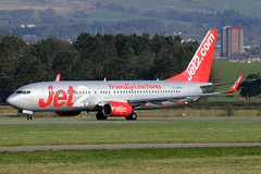 G-GDFS Jet2 Boeing 737-86N(WL) at Glasgow International Airport 23 March 2019 (Zone 49 Photography) Tags: aircraft airliner airlines airport aviation plane march 2019 gla egpf glasgow abbotsinch international scotland ls exs jet2 jet2com boeing737 boeing 737 800 86n wl ggdfs