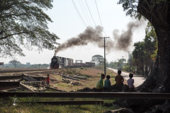 Steam near Kyaikhto (std70040) Tags: myanmar burma yd classyd steamlocomotive steamengine steamtrain happyplanet asiafavorites