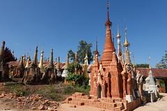 Nyaung Ohak pagodas, Inthein (24)