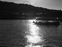 Maremagnum Sunset BW (Carlos Oteo) Tags: barcelona puerto sony a58 tamron mar sea cataluña españa spain blancoynegro blackandwhite bw bnw