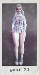 #ootd20 (nuniepop) Tags: nuniepop outfit ootd cute skirt ishere pale mocronome