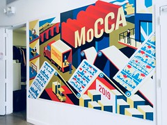 2019 MoCCA Fest NYC Indie Comics Convention 5525A (Brechtbug) Tags: mocca fest 2019 nyc convention museum comics cartoon art metropolitan west exhibition space 46th street between 11th 12th aves avenues new york city exposition exterior facade building entrance front floor panorama shot con conventions society illustrators 04072019 newspaper funnies saturday sunday comix illustration comic book artists comicbook sol event april wall poster