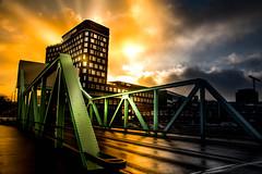 Bridge (Maria Eklind) Tags: moln sunrise malmö studiomalmö winter himmel architecture sky bro bridge dockan sweden klaffbron skånelän sverige se