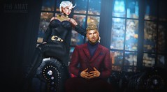 Don't you know I'm no good for you? (Isaac.Taur) Tags: deadwool magnificient notfound mancave catwa stanley james belleza jake modulus vexiin treschic mesh bento male men man fashion malefashion suit credits blog blogger new newrelease event
