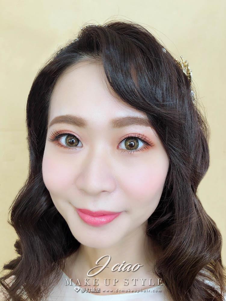 【新秘婕喬】新娘造型創作 / 韓系水波紋