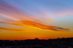 Sunset (kmanoh) Tags: usa unitedstates america northamerica northeast newengland massachusetts ma suffolkcounty revere reverebeach beach city sun sunset nikon d810 tamron