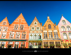 Colourful Bruges in Belgium, Europe (Ann Badjura Photography) Tags: brugge bruges belgium westflanders europe buildings medieval old history canals marketsquare market museum cityhall square veniceofthenorth romantic colourful urban architecture