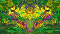 (K)AnalArt_53 Osterglocken (wos---art) Tags: bildschichten kanal art three communication kommunikation flowers blumen tulpen rosen farbkomposition sakrale räume