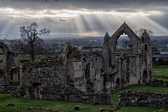 Ruins of Haughmond (jayneboo) Tags: haughmond abbey ruins light landscape stairways