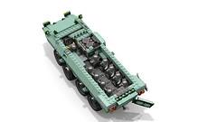 Lego B1 CENTAURO - Tank Destroyer (DarthDesigner) Tags: ldd moc builds instructions bricks brick mocs legodigitaldesigner starwars oninemesis thedarthdesigner tdd military lego digitaldesigner darth b1centauro centauro tank italiantank italian iveco