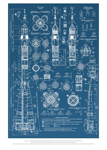 18-Affiche // 50x70 // Soyuz