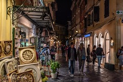A late summer's evening in Corfu Town (dandridgebrian) Tags: ionian greece corfu corfutown