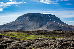 Mt. Herdubreid (Einar Schioth) Tags: mtherdubreid herðubreið herdubreid lava sky summer sunshine sun day canon clouds cloud vividstriking blusky nationalgeographic ngc nature mountain landscape photo picture outdoor iceland ísland einarschioth