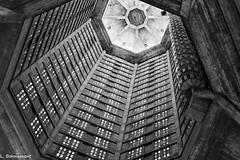 IMG_3022 (cachalo60) Tags: augusteperret église lehavre architecture seinemaritime graphique canon6d canon tamron vitraux noiretblanc nb