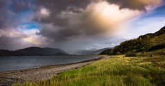 apocalypto (Phil-Gregory) Tags: scenicsnotjustlandscapes scotland scene countryside cloudscape clouds loch highlands nikon iamnikon tokina tokina1120mmatx 1120mm 1120mmproatx11 1120mmproatx 1120mmf28 wideangle ultrawide rainbow weather landscapes light lightroom ngc uk