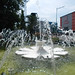 Fountains on the center of kudus city