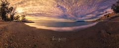 Baños del Carmen (Fran-Garrido) Tags: nikon d750 irix15mmf24 panoramica paisajes málaga balneario playadebañosdelcarmen amanecer nubes playa costadelsol fb 500px