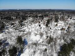 Acton Arboretum Aerial Shot (knuts-photos) Tags: knuthansen drone acton arboretum aerial winter djimavicair