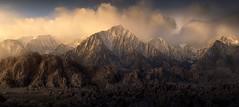 The Granite Fields (Ryan Dyar) Tags: peak peaks panorama alabamahills ryandyar sunrise california lonepine sierras easternsierra mountains range sierranevada