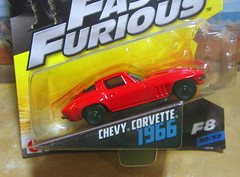 Fast & Furious Filmmaker F8 Chevy Corvette 1966 By Mattel 2016 - 2 Of 2 (Kelvin64) Tags: fast furious filmmaker f8 chevy corvette 1966 by mattel 2016