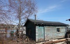 Riverside cabin (D70) Tags: north arm fraser river riverside cabin luluisland richmond britishcolumbia canada tommac shipyard bcs best small established since 1963