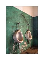 Two pissers (Franco & Lia) Tags: pisser latrine toilet abandoned abandonment rudere toilette bagno