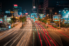 愛河之星 | 高雄Kaohsiung (ibgsaker) Tags: kaohsiung taiwan track art canon night car road