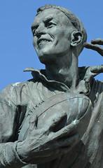 A Quiet Hero (Feversham Media) Tags: barrowinfurness barrow willehorne chriskelly cumbria barrowrlfc rugbyleague sculpture