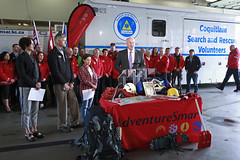 Province provides record funding for ground search and rescue in BC (BC Gov Photos) Tags: mikefarnworth coquitlam bc canada can searchandrescue publicsafety groundsearchandrescue bcsearchandrescueassociation preparedbc