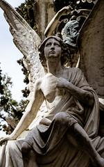 Sepultura Ramón Blanco y Erenas, detalle (Fernando Two Two) Tags: montjuic sepultura sepulcre estatua statue cementiri cementerio cemetery bcn barcelona funerary