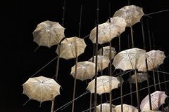 The Umbrellas at Night (George Tzanis) Tags: umbrellas thessaloniki greece zongolopoulos night art culture city urban sculpture coast beach capital 1997 up warm sony ilce7m2 a7m2 sonya7ii sonyfe2870mmf3556oss sel2870 a7ii macedonia θεσσαλονίκη μακεδονία