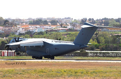 Airbus A400M-180 Atlas C1 ZM411 Royal Air Force (EI-DTG) Tags: malagaairport 27mar2019 agp royalairforce zm411 a400 atlas grizzly militaryaircraft freighter cargo