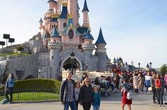 The Four Of Us By Sleeping Beauty Castle (Joe Shlabotnik) Tags: disneylandparis 2018 proudparents castle paris april2018 france disney peter everett violet disneyland eurodisney sue afsdxvrzoomnikkor18105mmf3556ged