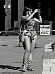 La toma (carlos_ar2000) Tags: fotografa photographer chica girl mujer woman bella beauty sexy calle street linda pretty gorgeous buenosaires argentina