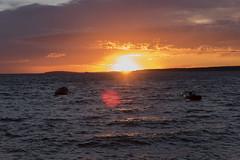 Sunset near camping Cikat in Mali Losinj (Meindert Mulder) Tags: kvarner croatie croatia kroatia kroatien kroatië croacia island adriatic adriaticsea holiday tamron2875mmf28 nikon nikond750 čikat campingčikat sunset sun sea hrvatska