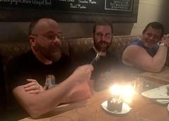 IMG_7608 (danimaniacs) Tags: cake candles man guy beard scruff