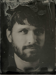 img319 (Adam Clark Photography) Tags: wetplate collodion largeformat 4x5 film fujinon fuji portrait exposure analog analogue male 9x12 tintype lighting studio strobe headshot