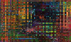 ones & zeros... (Mark Noack) Tags: light color photoshop layer layering surreal expressionism abstract psychedelic futurist abstraction awardtree shockofthenew