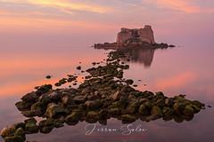 Unas Piedras del camino,,,,, (Yaco1959) Tags: el delta del ebrotorre sant joan madrugada albada mar mediterraneo ngc