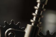 Geared (arbyreed) Tags: arbyreed close closeup metal kitchentool corkremover corkscrew wine metallic