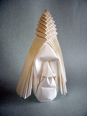 Indian (Rui.Roda) Tags: origami papiroflexia papierfalten indio indien indian masque mask mascara