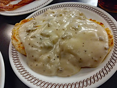 Biscuits And Gravy. (dccradio) Tags: myrtlebeach sc southcarolina horrycounty food eat meal breakfast lunch dinner supper latenightsnack wafflehouse plate restaurant february winter tuesday tuesdaynight night evening goodnight goodevening tuesdayevening biscuits gravy sausagegravy biscuitsngravy biscuitsandgravy biscuitsgravy samsung galaxy smj727v j7v cellphone cellphonepicture inside indoor indoors