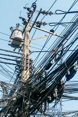 曼谷,電纜才是影像的主體 (Eternal-Ray) Tags: 曼谷 กรุงเทพมหานคร บางกอก fujifilm xt3 xf 1655mmm f28 r lm wr