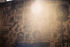 Sansom Street (Tom Ipri) Tags: fujicolor200 filmisnotdead philly filmphotography canonae1 lensflare 35mm philadelphia shotonfilm