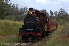 Amamoor Bound (Mittens_97) Tags: c17 974 c17974 c17brownbomber mvhr gympie maryvalleyrattler maryvalley qld queensland